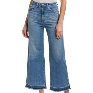[AG Jeans] Yvette High-Rise Wide Leg Ankle